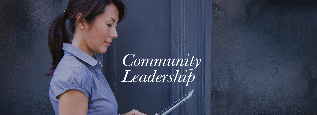 Community leadership3